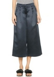 Tibi Pleated Wide Leg Pants