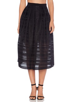 Tibi Ribbon Full Skirt