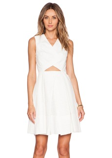 Tibi Riko Eyelet Origami Dress