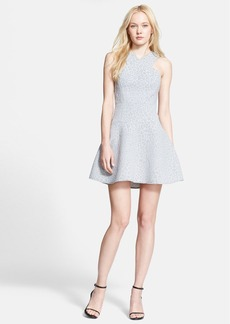 Tibi 'Rime' Jacquard Fit & Flare Dress