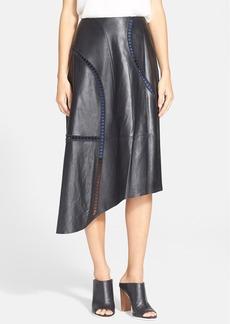 Tibi Seamed Drape Skirt