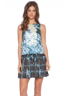 Tibi Sidewalk Floral Dress