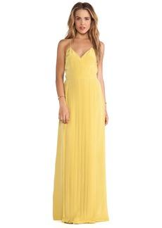 Tibi SIlk Pleated Dress