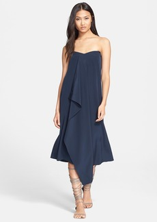 Tibi Silk Strapless Dress