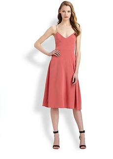 Tibi Silk Strappy Dress