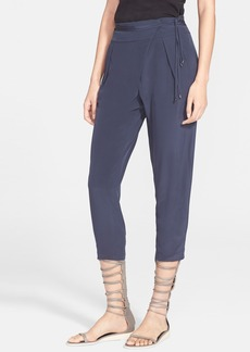 Tibi Silk Wrap Pants