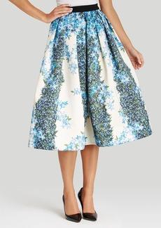 Tibi Skirt - Sidewalk Floral Full Midi