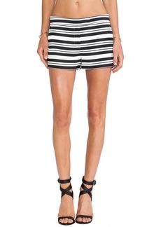 Tibi Sumer Stripe Short
