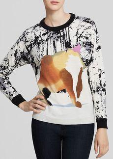 Tibi Sweater - Forest Bear