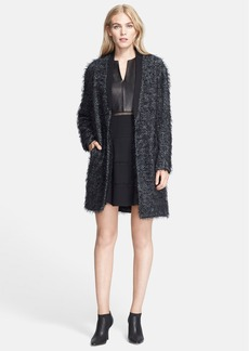 Tibi Tweed Long Coat
