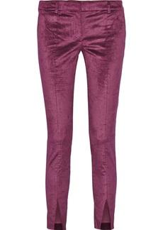 Tibi Velvet skinny pants