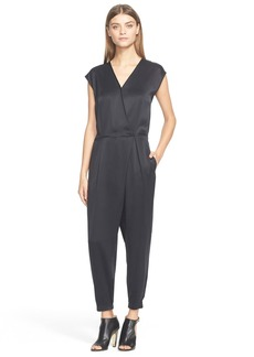 Tibi Sand Washed Silk Jumpsuit