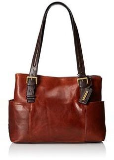 Tignanello Classic Beauty Shopper Solid Shoulder Bag