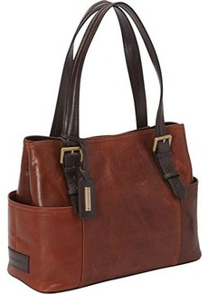 Tignanello Classic Beauty Shopper Solid Shoulder Bag