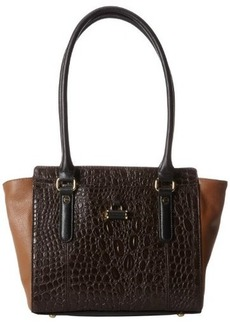 Tignanello Color Me Croco Shoulder Bag