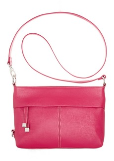 Tignanello Horizontal Leather Convertible Crossbody Bag
