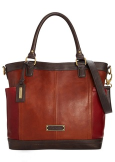 Tignanello Houston Street Leather Convertible Tote