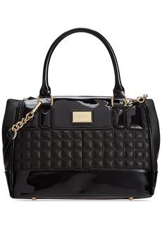 Tignanello Lady Q Chain Leather Status Satchel