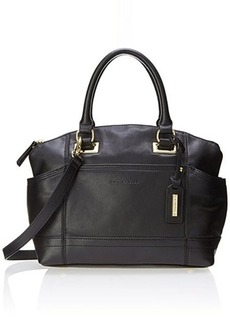 Tignanello Pretty Pocket Convertible smooth Top Handle Bag