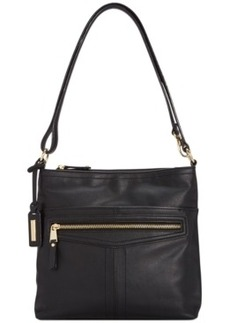 Tignanello Pretty Pockets Smooth Leather Crossbody
