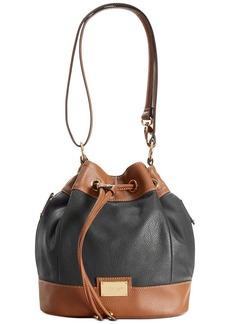 Tignanello Social Status Leather Convertible Drawstring Bag