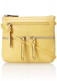 Tignanello Triple Zip Cross Body Bag