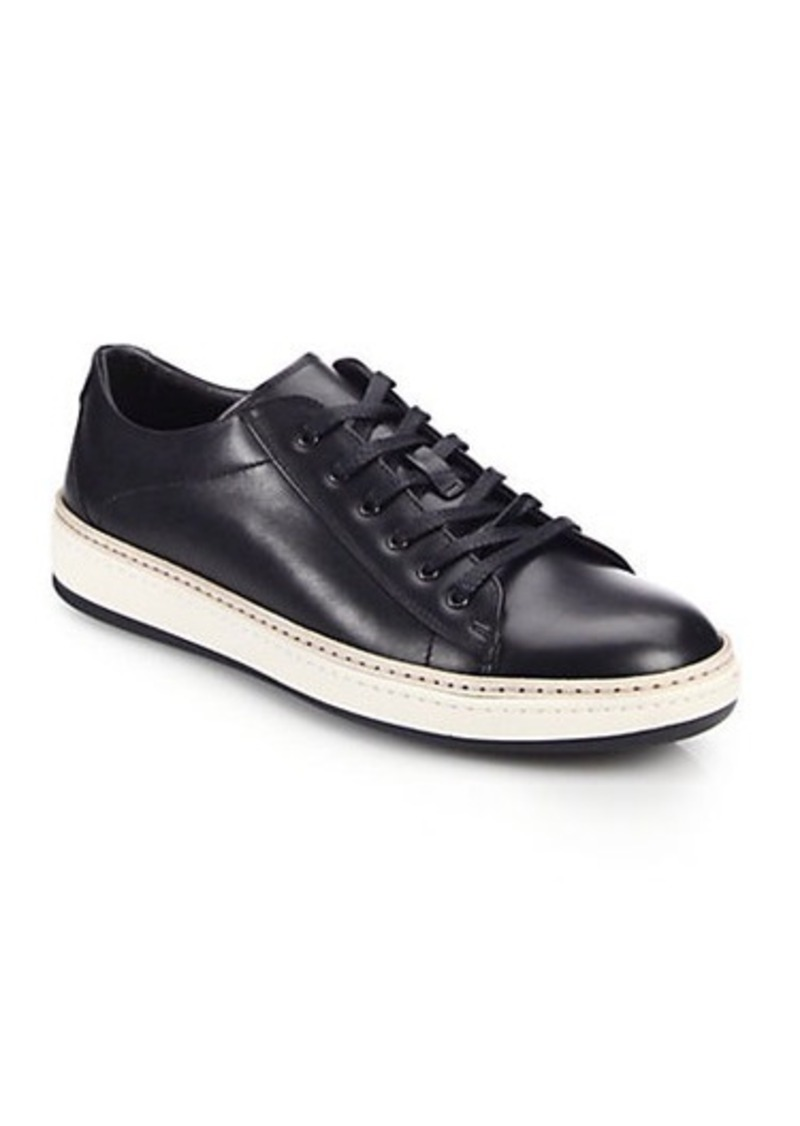 to boot to boot new york farley leather lace up sneakers