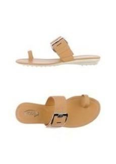 TOD'S - Flip flops
