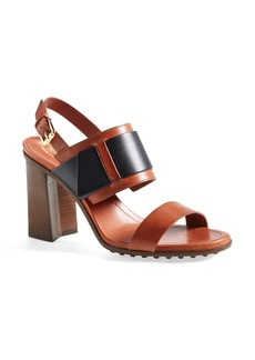 Tod's 'Accessory' Leather Sandal (Women)
