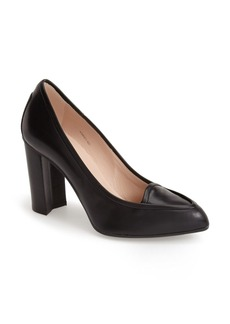 Tod's Almond Toe Loafer Pump (Women)
