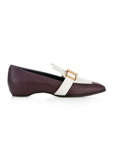 Tod's Bi-colour leather loafers
