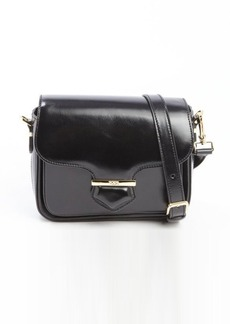 Tod's black leather small crossbody bag