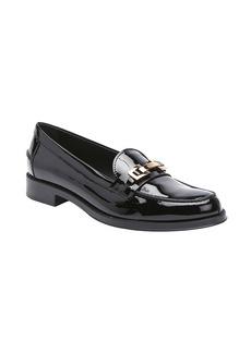 Tod's black patent leather split toe h...