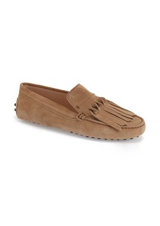 Tod's Fringe Driving Moccasin (Women)