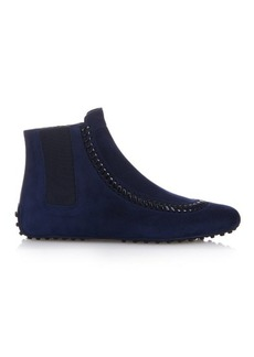 Tod's Gommino suede ankle boots