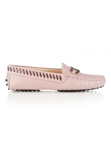 Tod's Gommino woven-edge leather loafers