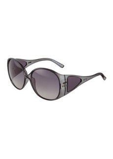 Tod's Gray Injected Butterfly Sunglasses  Gray Injected Butterfly Sunglasses