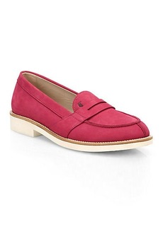 Tod's Ivy Suede Loafer Sneakers