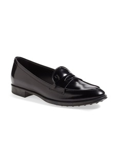 Tod's Leather Penny Loafer (Women)