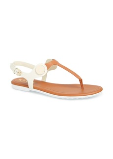 Tod's Leather Thong Sandal (Women)