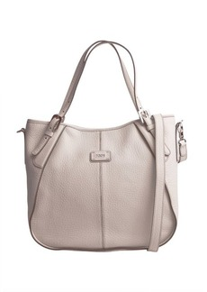 Tod's light beige leather 'G-Line Sacca Piccola' convertible tote
