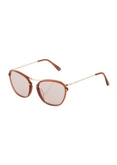 Tod's Metal Butterfly Sunglasses