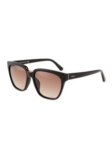 Tod's Metal-Trim Square Plastic Sunglasses