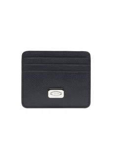 Tod's navy leather card holder