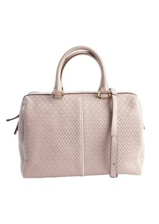 Tod's powder pink leather convertible top handle handbag