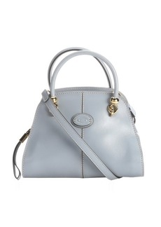 Tod's Pre-owned: light blue leather convertible mini satchel