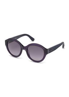 Tod's Round Gradient Plastic Sunglasses