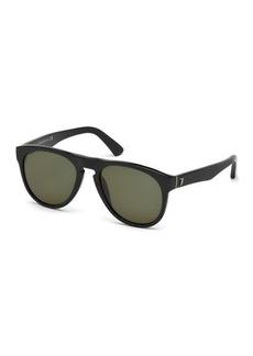 Tod's Round Plastic Sunglasses