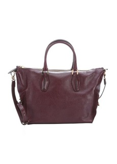 Tod's strawberry leather medium convertible tote bag