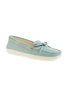 Tod's Tie Front Boat Shoe (Women)